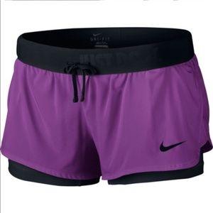 Nike Dri-Fit 2 in 1 flex shorts Sz. Small